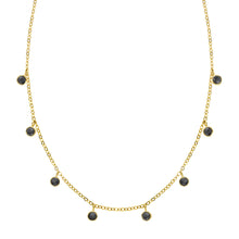 LET'S DANCE BLACK ONYX NECKLACE