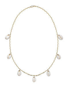 LET'S DANCE COWRY SHELL NECKLACE