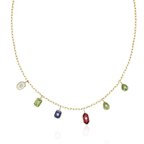 LET'S DANCE BESPOKE BIRTHSTONE NECKLACE