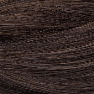 "S-Tape 14"" Straight Tape-in Hair Extensions Darkest Brown / Medium Golden Brown Blend"