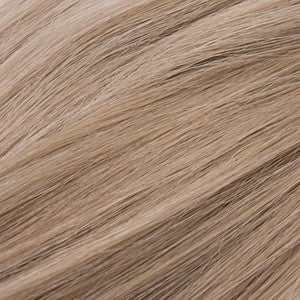 "S-Tape 14"" Straight Tape-in Hair Extensions Medium Ash Blonde / Golden Blonde Blend"