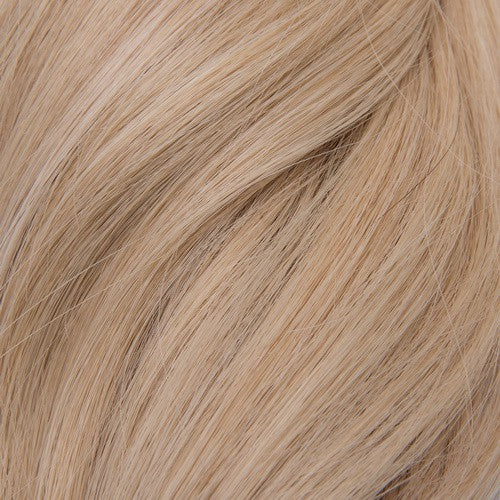 "Bodywave Clip-In 14"" Hair Extensions Pale Golden Platinum / Light Ginger Blend"