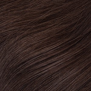 "Flat Clip-In 22"" Hair Extensions Medium Dark Brown"