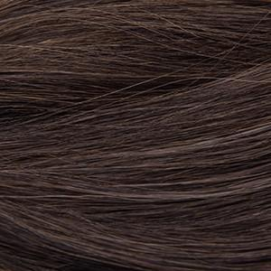 "S-Tape 18"" Straight Tape-in Hair Extensions Darkest Brown / Medium Golden Brown Mix"