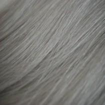 "S-Tape 18"" Straight Tape-in Hair Extensions Silver"