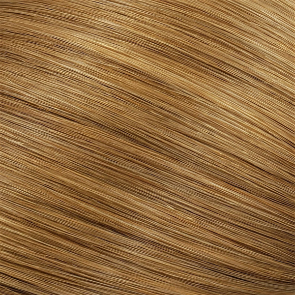 "S-Tape 14"" Straight Tape-in Hair Extensions Medium Strawberry Blonde"