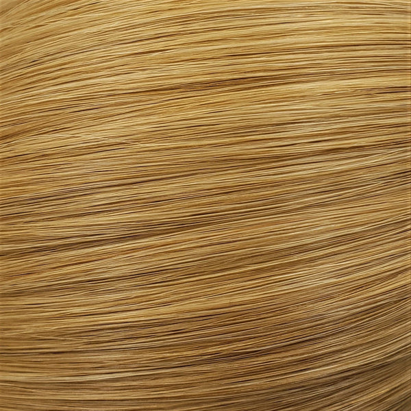 "S-Tape 18"" Straight Tape-in Hair Extensions Light Strawberry Blonde"