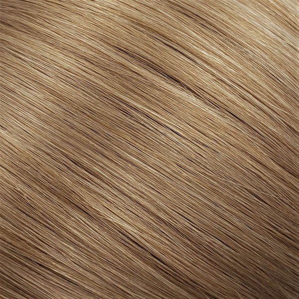 "S-Tape 18"" Straight Tape-in Hair Extensions Medium Ash Blonde"