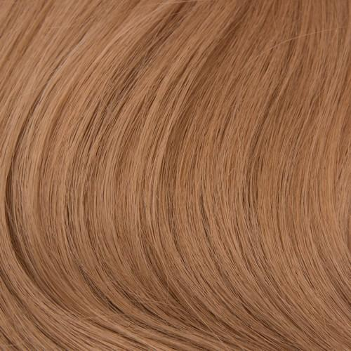 "M-Tip 18"" Bodywave Hair Extensions Soft Ginger Blonde"