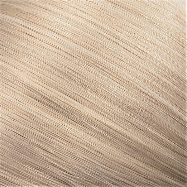 "Flat Clip-In 22"" Hair Extensions Platinum Blonde"