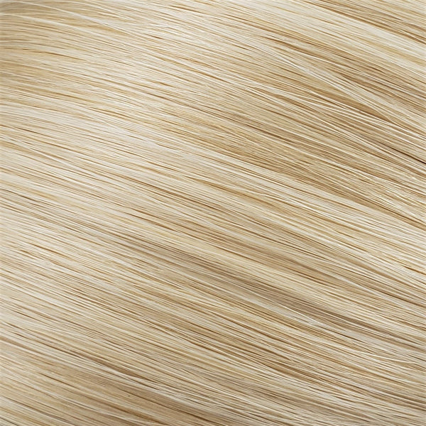 "Flat Clip-In 14"" Hair Extensions Pale Golden Platinum"