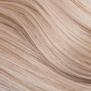 "Flat Clip-In 14"" Hair Extensions Beige Platinum"