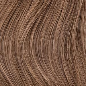 "Flat Clip-In 18"" Hair Extensions Medium Golden Brown / Caramel / Light Ginger Blend"