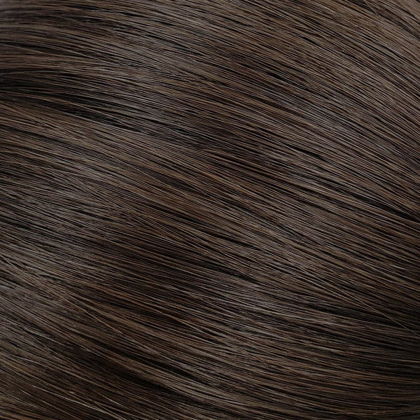 "S-Tape 22"" Straight Tape-in Hair Extensions Darkest Brown"