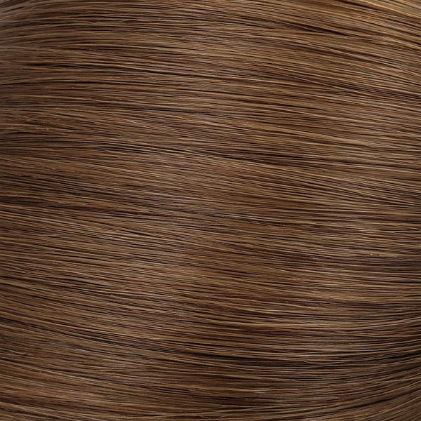 "S-Tape 14"" Straight Tape-in Hair Extensions Light Warm Brown"