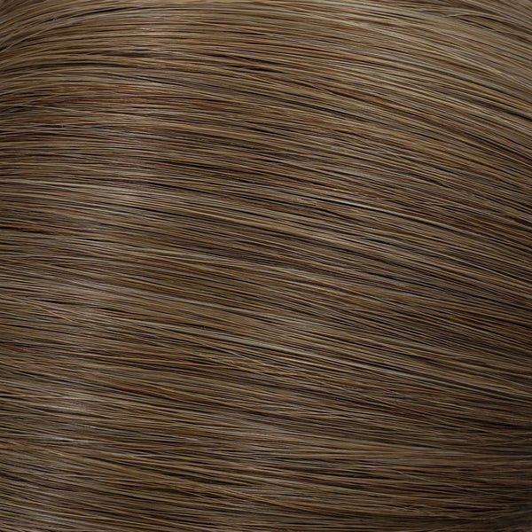 "Flat Clip-In 14"" Hair Extensions Light Ash Brown"