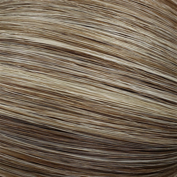 "S-Tape 18"" Bodywave Tape-in Hair Extensions Light Warm Brown / Pale Golden Blonde Mix"