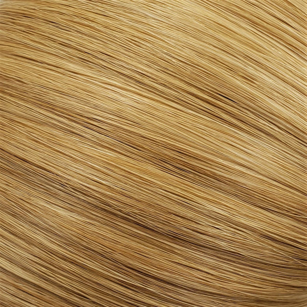 "S-Tape 18"" Straight Tape-in Hair Extensions Light / Medium Strawberry Blonde Mix"