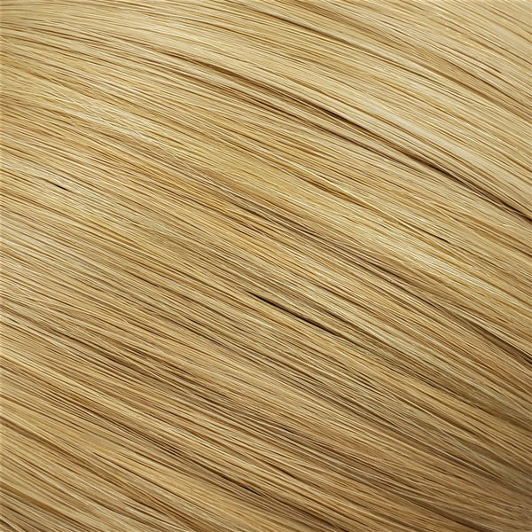 "S-Tape 18"" Straight Tape-in Hair Extensions Light Strawberry Blonde / Golden Blonde Mix"