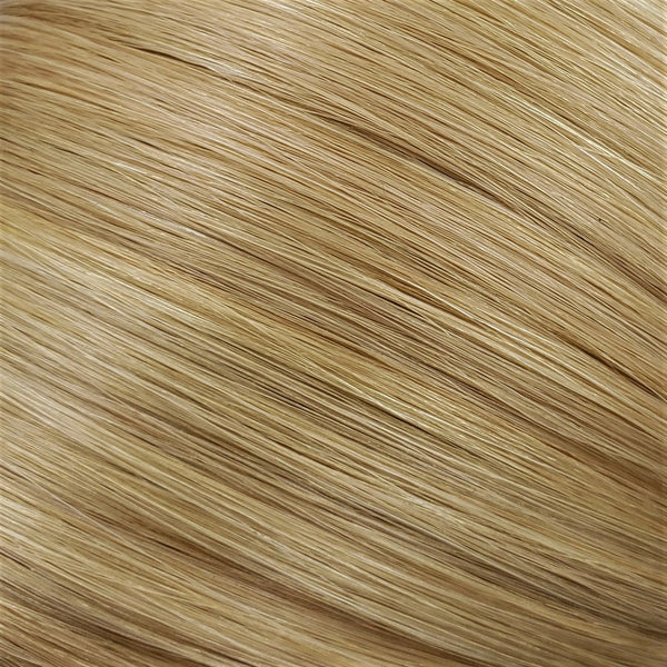 "S-Tape 14"" Straight Tape-in Hair Extensions Medium Ash Blonde / Pale Golden Blonde Mix"