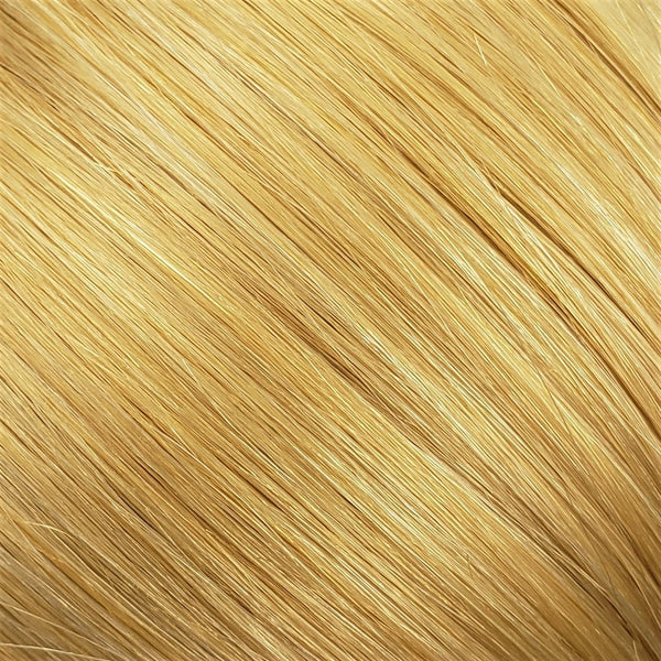 "S-Tape 14"" Straight Tape-in Hair Extensions Pale Golden Platinum / Pale Golden Blonde Mix"