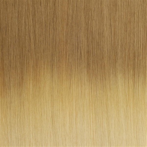 "E-Weft 22"" Hair Extensions Medium Strawberry Blonde / Light Strawberry Blonde / Radiant Beige Platinum"