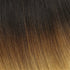 "I-Tip 22"" Straight Hair Extensions Natural Black / Medium Golden Brown / Pale Ginger Blonde"