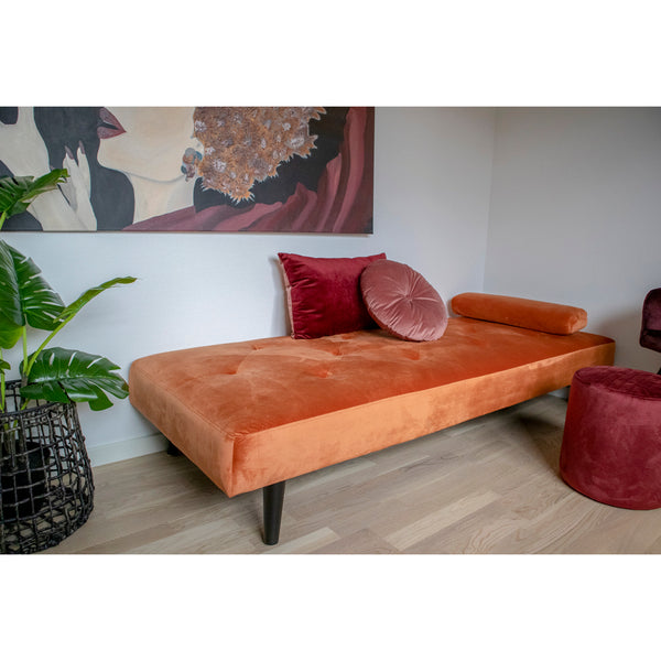 Lasanta Daybed - Orange velour