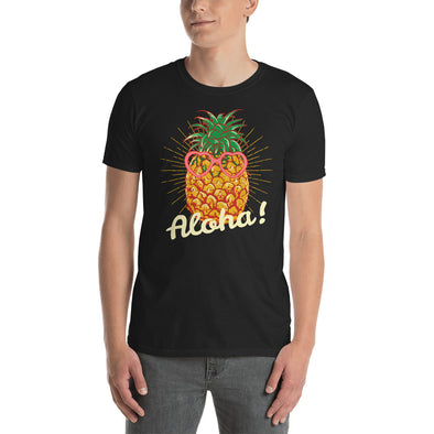 """Aloha"" Short-Sleeve Men's T-Shirt"