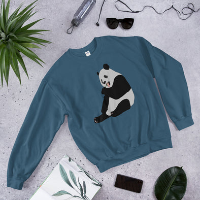 Panda Bear Print Women's Sweatshirt