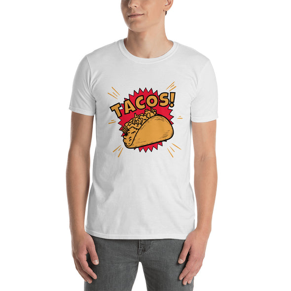 """Tacos!"" Short-Sleeve Men's T-Shirt"