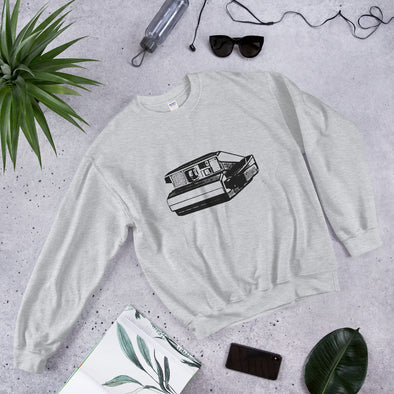 Polaroid Print Women's Sweatshirt