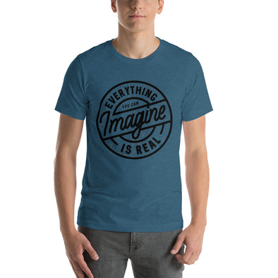 """Everything You Can Imagine is Real"" Short-Sleeve Men's T-Shirt"