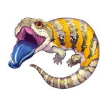Blue Tongue Skink Stickers/Decals