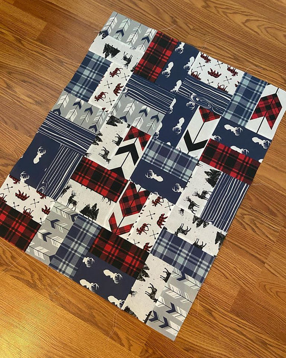 Woodsman Outdoor Quilt