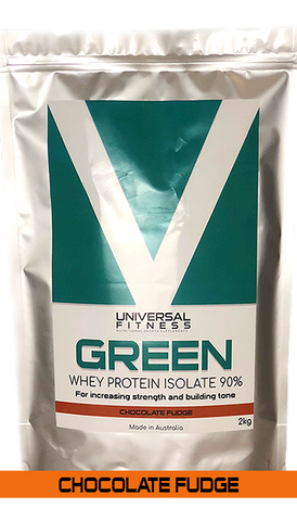GREEN WPI // Chocolate Fudge