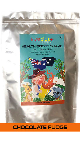 Kids Plus Health Boost // Chocolate Fudge