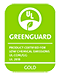 GREENGUARD Gold certified Product