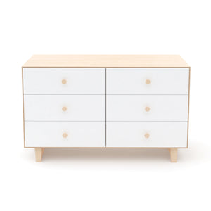 Shop Oeuf Canada Modern Kids Storage 6 Drawer Dresser - Rhea Birch/White Option