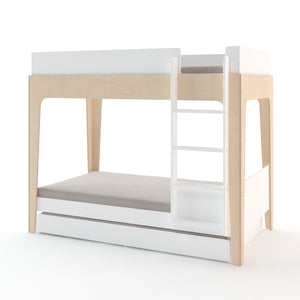 Shop Oeuf Canada Modern Toddler & Kids Perch Trundle Bed White Birch