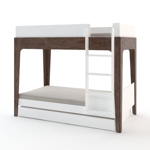 Shop Oeuf Canada Modern Toddler & Kids Perch Trundle Bed White Walnut