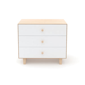 Shop Oeuf Canada Modern Kids Storage 3 Drawer Dresser - Rhea Birch/White Option