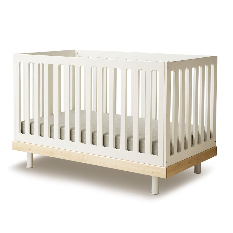 Buy Modern Nursery Classic Crib in Toronto Canada White Walnut