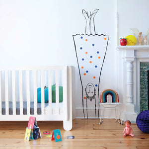 Buy Modern Nursery Elephant Crib in Canada Room Setting