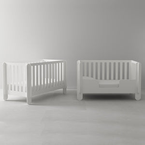 Buy Modern Nursery Elephant Crib in Canada White