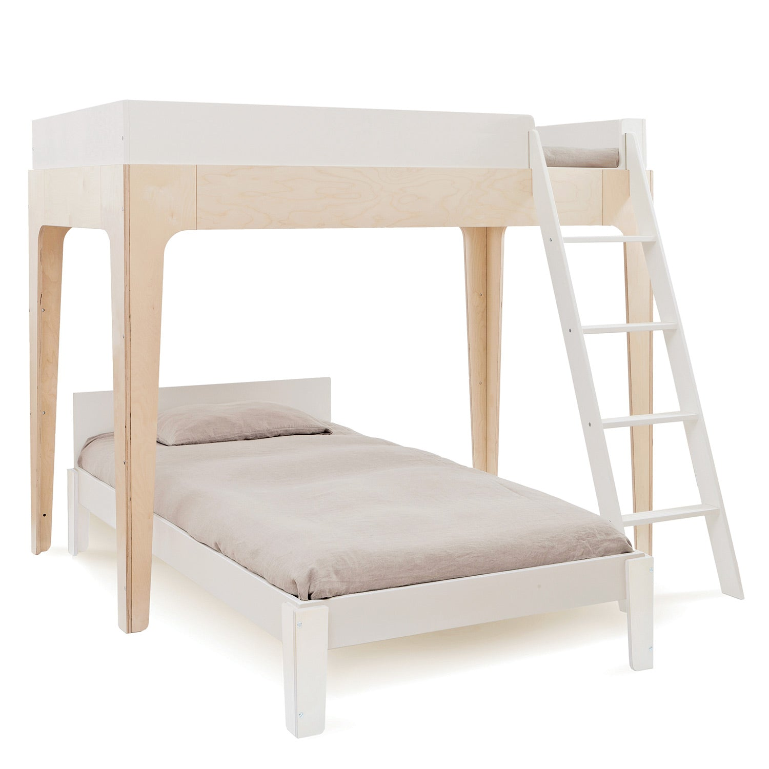 Perch Twin Bunk Bed For Kids Teens With Stairs By Oeuf Canada