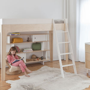 Shop Oeuf Canada Modern Toddler & Kids Perch Twin Size Loft Bed Room Setting