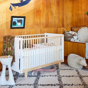 Shop Oeuf Canada Modern Nursery Rhea Crib Room Setting