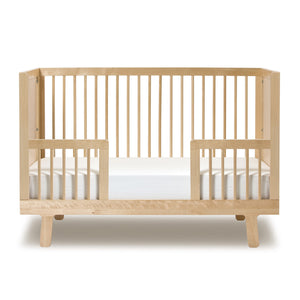 Modern Nursery Sparrow Toddler Bed Conversion Kit in Canada Birch
