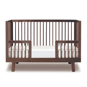 Modern Nursery Sparrow Toddler Bed Conversion Kit in Canada Walnut